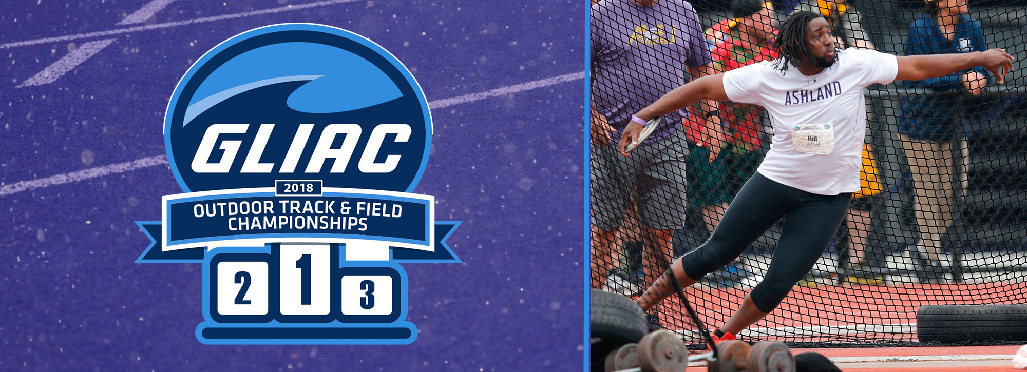 Second Day Wraps Up at GLIAC Outdoor Track & Field Championships