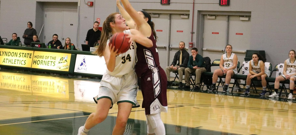 Hornet women lead wire to wire in win over Maine-Farmington