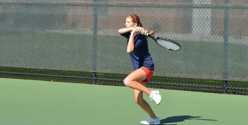 Danielle Slonac claimed the only point for SVSU at Tiffin, posting a victory at #6 singles...