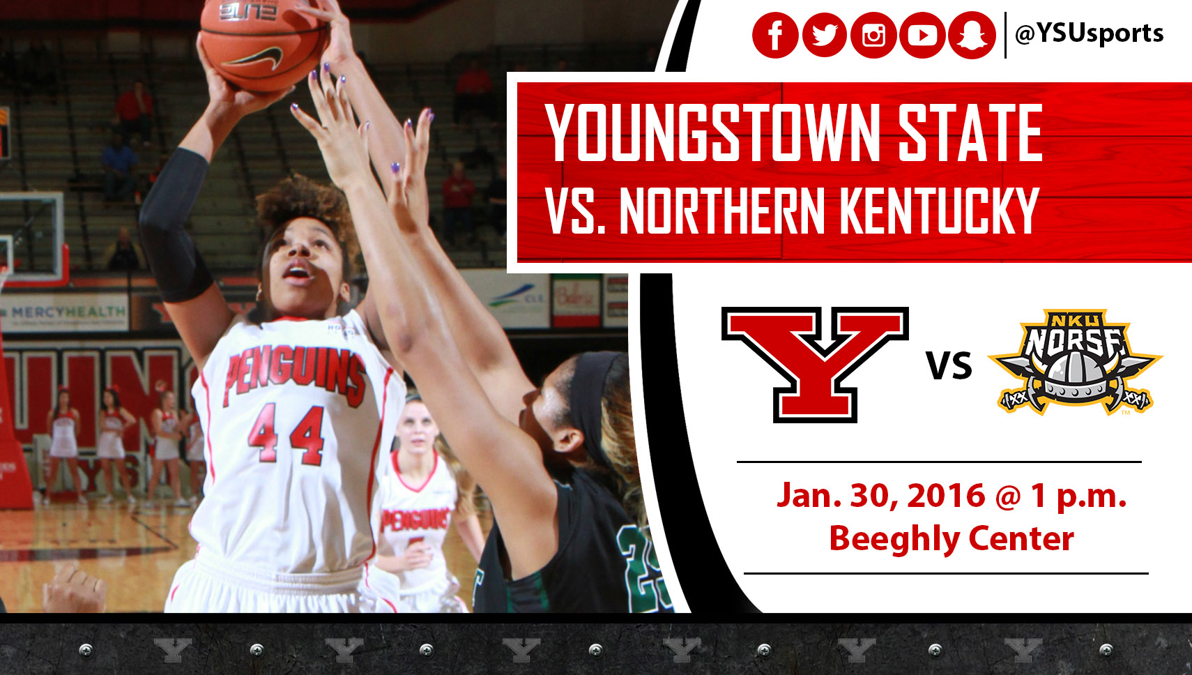 Janae Jackson and the Penguins will look to go 2-0 this week as they play Northern Kentucky on Saturday.