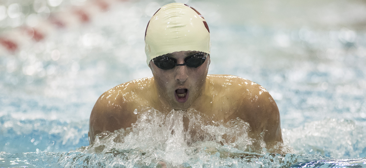 Men's Swimming and Diving Races to Top-Five Finish at Ithaca Invitational