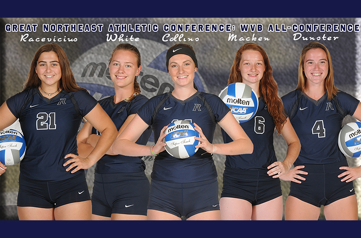 Women's Volleyball: Five selected to GNAC All-Conference Teams