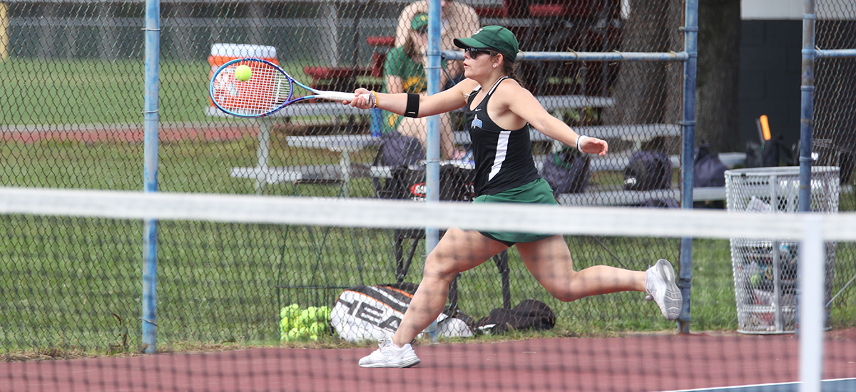 Spartans top Sage in women's tennis action