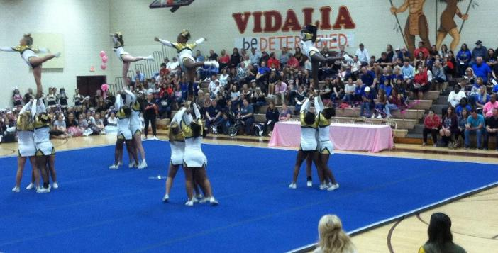 Competition Cheerleaders Finish 2nd in Vidalia Classic