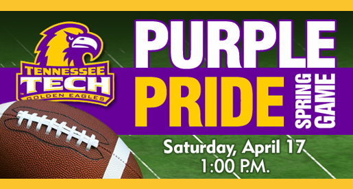 Golden Eagles to wrap up spring work with Purple & Gold Spring Game