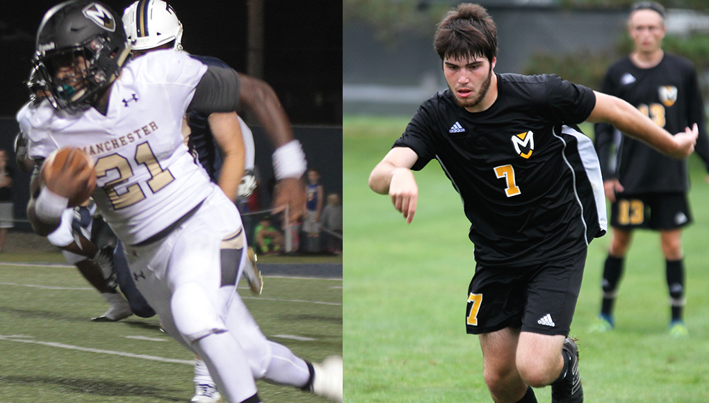 Two earn HCAC Player of Week honors