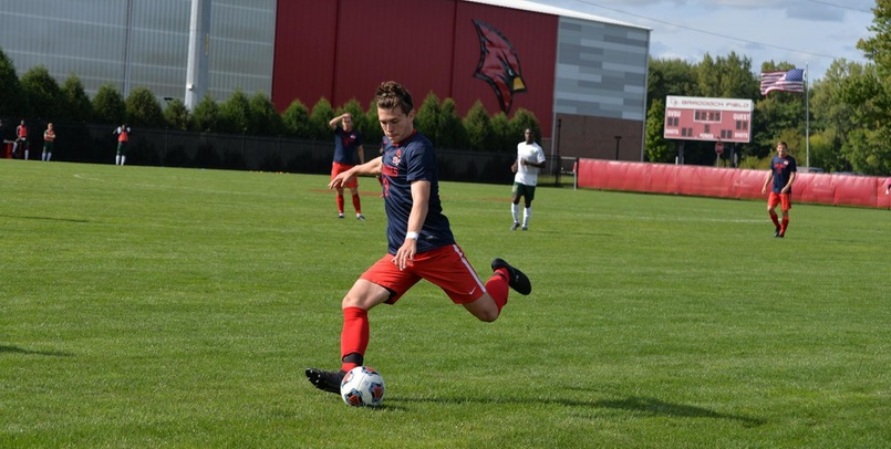 Alex Gloshen had a goal and assist in the Cardinals' 2-1 road victory over Purdue Northwest on Friday afternoon...