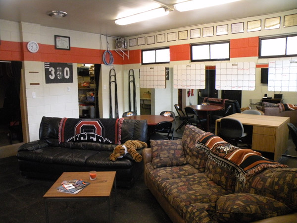 Occidental Baseball Clubhouse