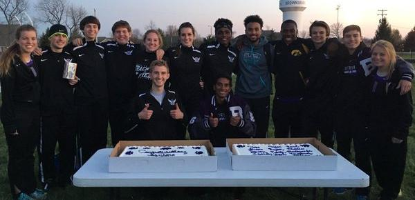 Track and Field Celebrates Seniors
