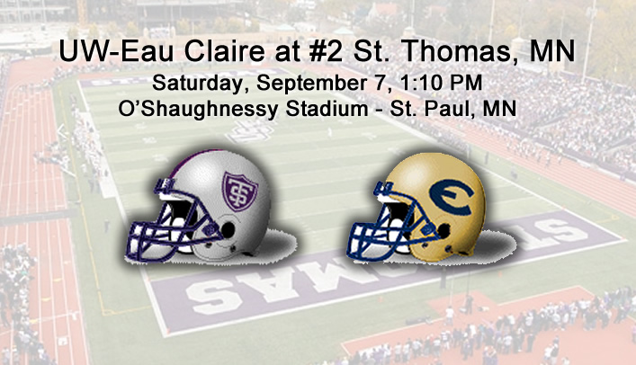 Football Preview: UW-Eau Claire at No. 2 St. Thomas