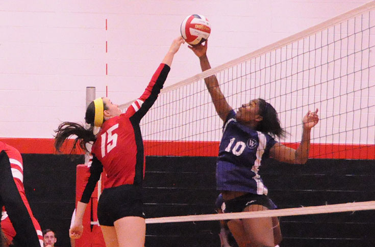 Volleyball:  Panthers down Mary Baldwin; lose five-set thriller to Greensboro in USA South matches