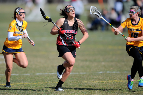 Women's LAX Tripped Up by Wheelock