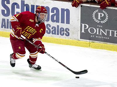 Billins Tabbed As FSU's CCHA Scholar-Athlete