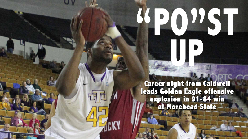 Golden Eagles explode offensively in 91-84 victory over Morehead State