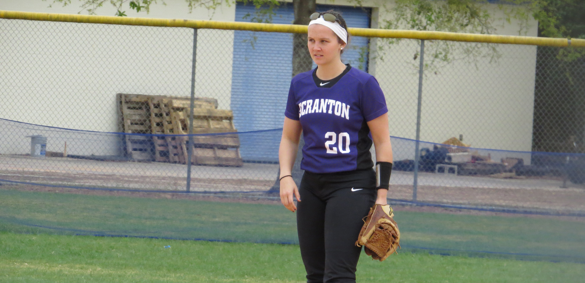Cyan Scarduzio had a hit and scored a run in Scranton's win over Misericordia on Thursday.