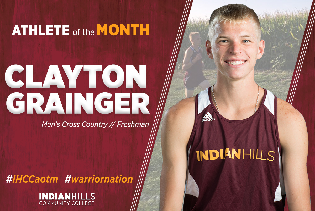 Athlete of the Month - Clayton Grainger