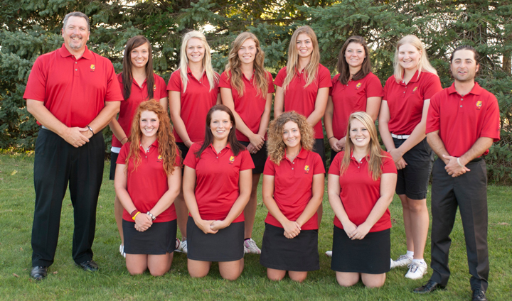 Bulldog Women's Golf Third Overall After Day One At GLIAC Championships