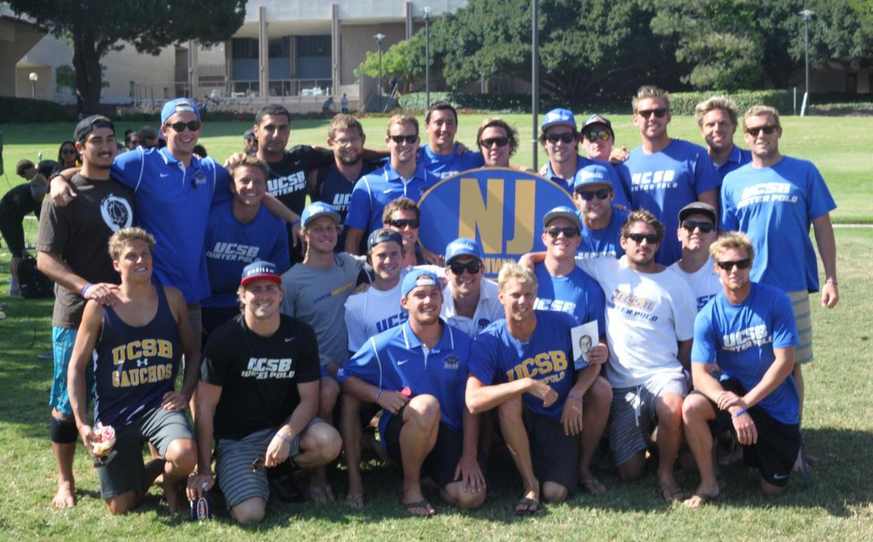 Gaucho Water Polo at Nick Johnson's Memorial in May.