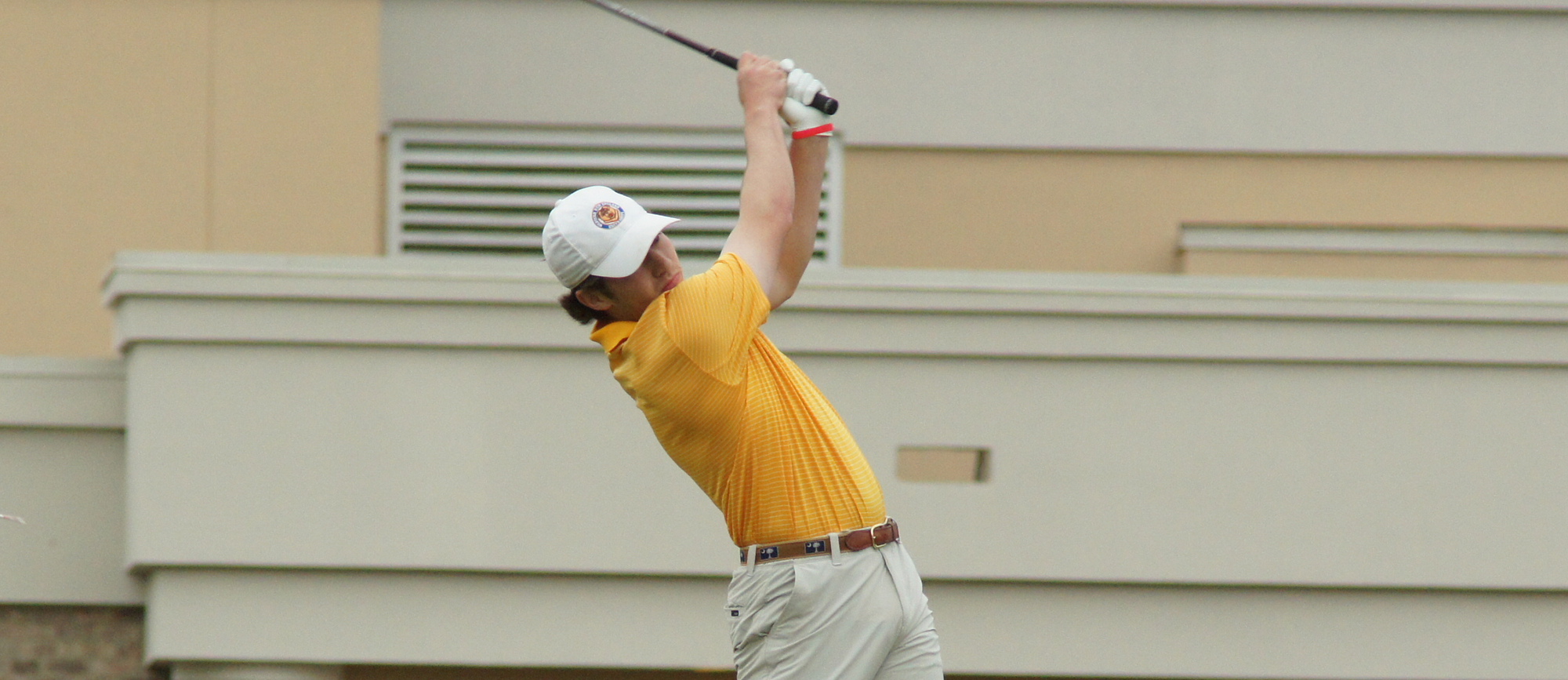 Ryan Zogby paced the 20-player field at the CCC Championship with a 36-hole score of 146.