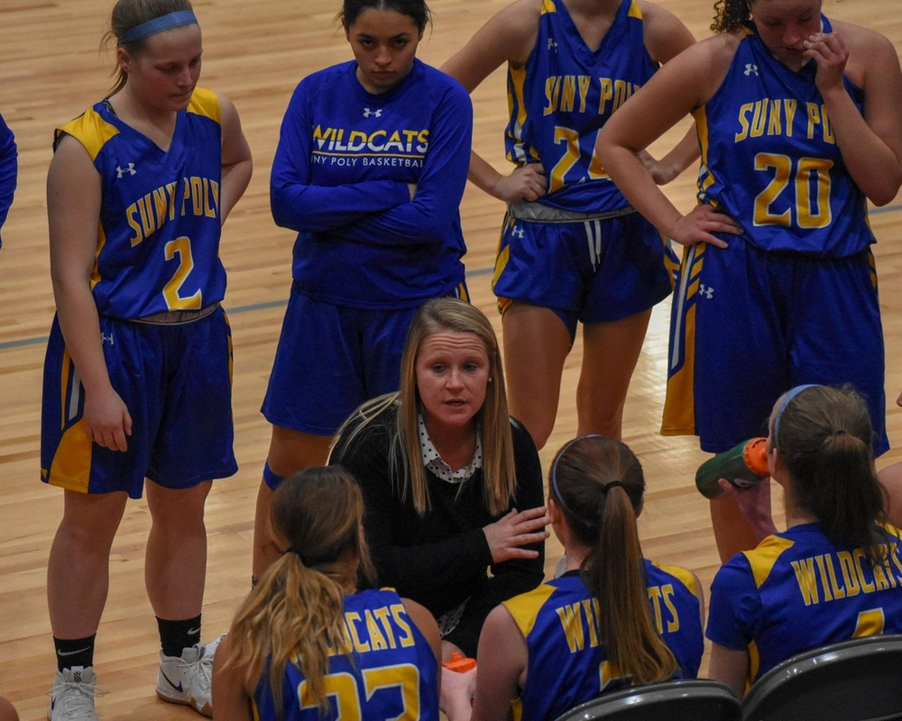 WBB: Hot Fourth Quarter Shooting Helps Wildcats Secure 12th NEAC Win of the Season.