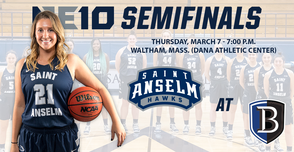 PREVIEW: Women's basketball to tangle with No. 12 Bentley in NE10 Semifinals