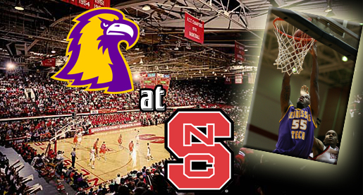 Into the wolf den; Golden Eagles take on the N.C. State Wolfpack in Raleigh