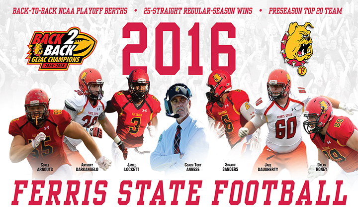BULLDOG FOOTBALL GAMEDAY: Ferris State vs Ohio Dominican