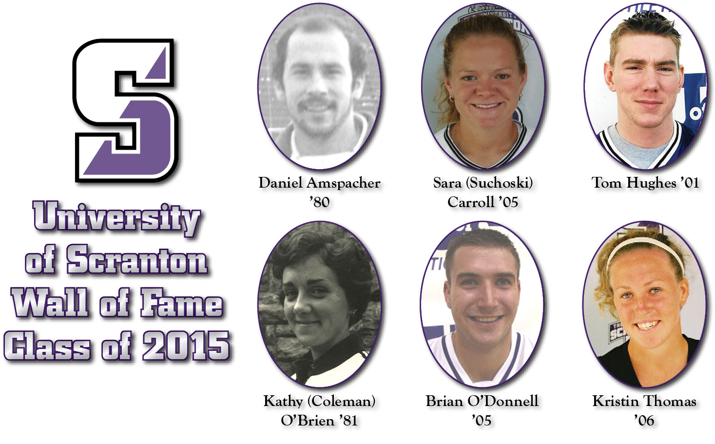 University To Induct Six Newest Wall of Fame Members on Saturday