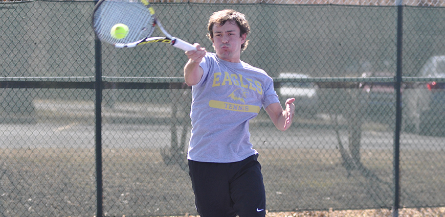 Men's Tennis Team Finishes 1-1 In ASC Action Friday