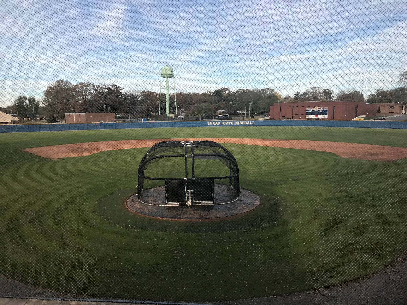 a photo of the snead state baseball field