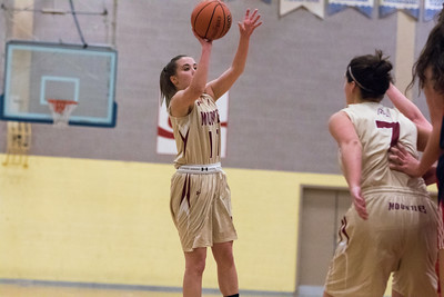 Lady Mounties Grab Win in home Finale