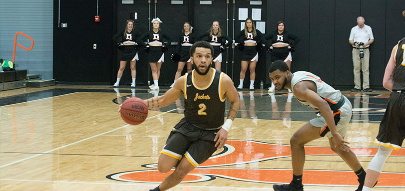 Senior guard Jay Battle had a game-high 21 points in the conference victory over Heidelberg