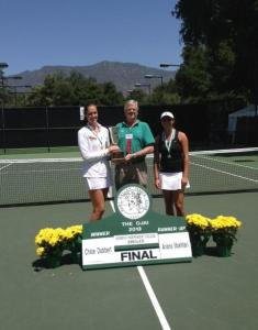 Chloe Dobbert Wins Independent College Singles Tournament At Ojai