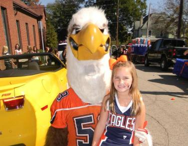 Carson-Newman spirit squads begin Junior Eagle Cheer Program