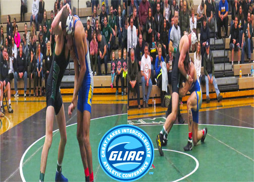 Two Wrestlers Honored by GLIAC