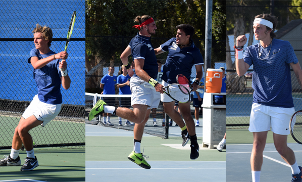 Four singles players, two doubles teams chosen All-American