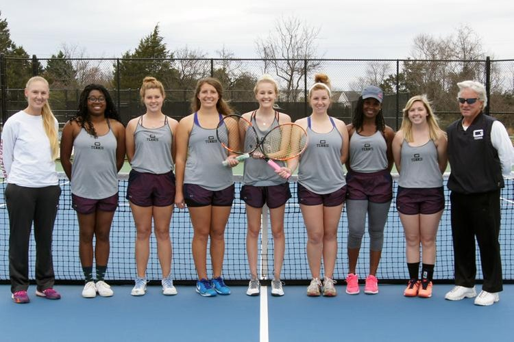 2016-17 Guilford College Women's Tennis Team (John Bell, Touch A Life Photography)