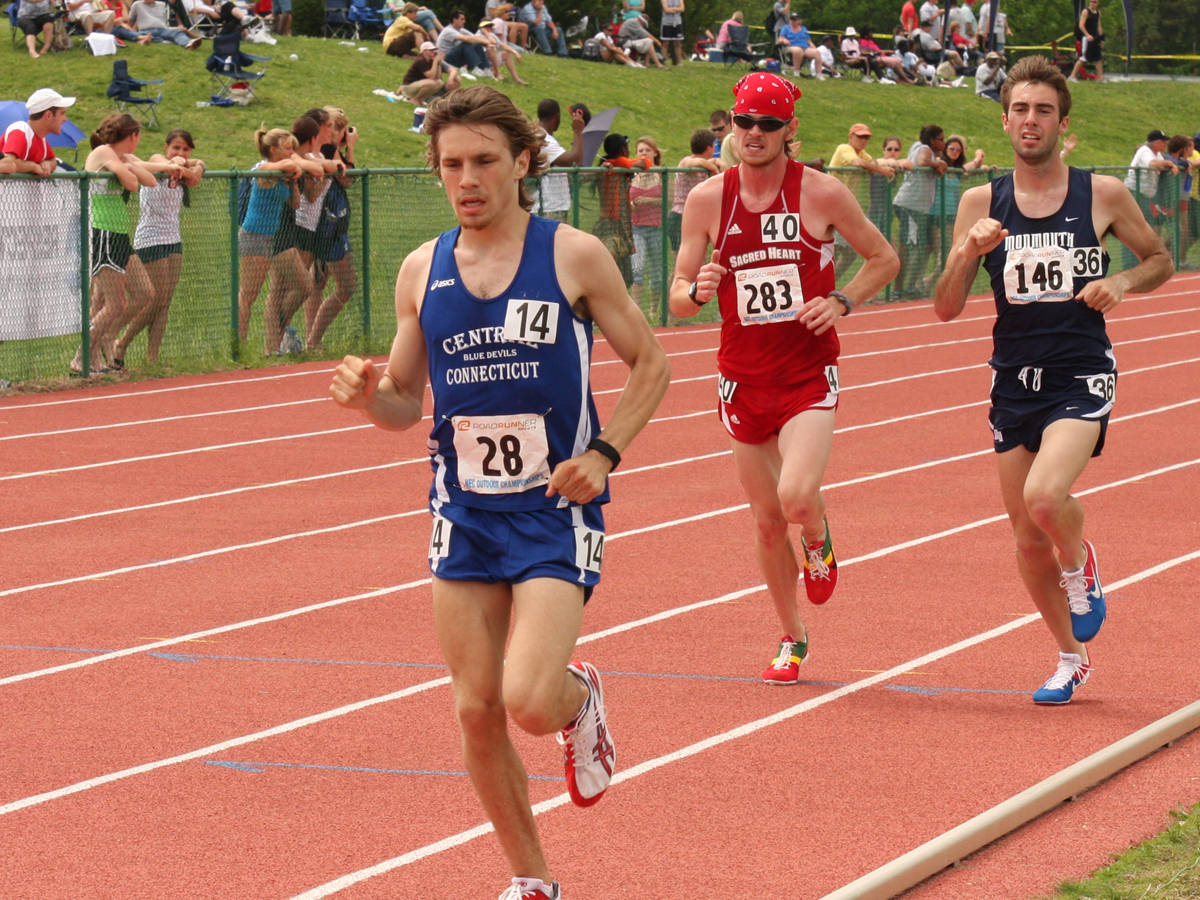 Men's Track Competes at IC4A Championships