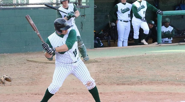 Saints Split Double-Header Versus Northeastern