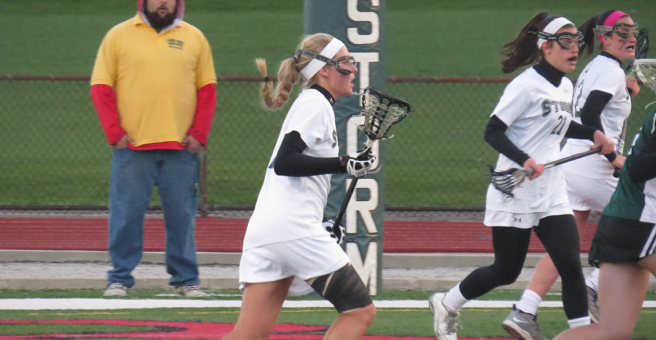 Storm Falls in Close Battle with Slippery Rock