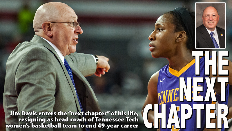 Jim Davis retires as head coach of Tennessee Tech women's basketball team