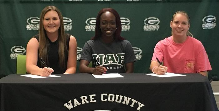 Three Gators Sign National Letters of Intent