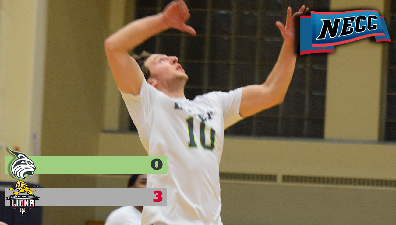 Men's Volleyball Falls to Eastern Nazarene to Drop Season Series