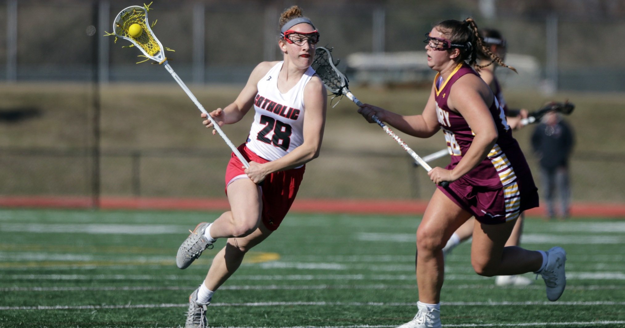 Maupin Leads 10 Goal Scorers in 21-10 Road Win at Meredith