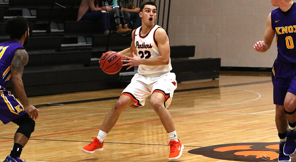 Men's basketball races past Iowa Wesleyan
