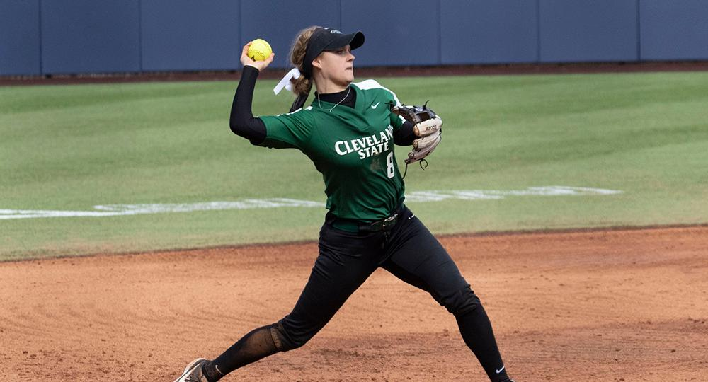 Cleveland State Completes Three-Game Sweep of Green Bay with 5-4 Victory