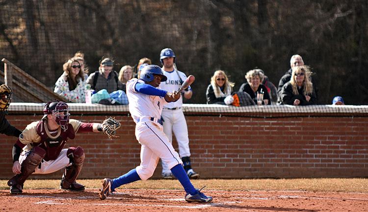 2016 Baseball Action Shots - Mars Hill University