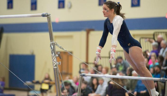 Blugold Gymnasts Finish Second at Home Invite
