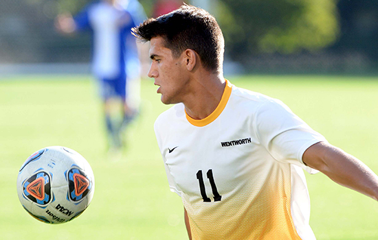 Martins Nets Pair in Men's Soccer's Season-Opening Win