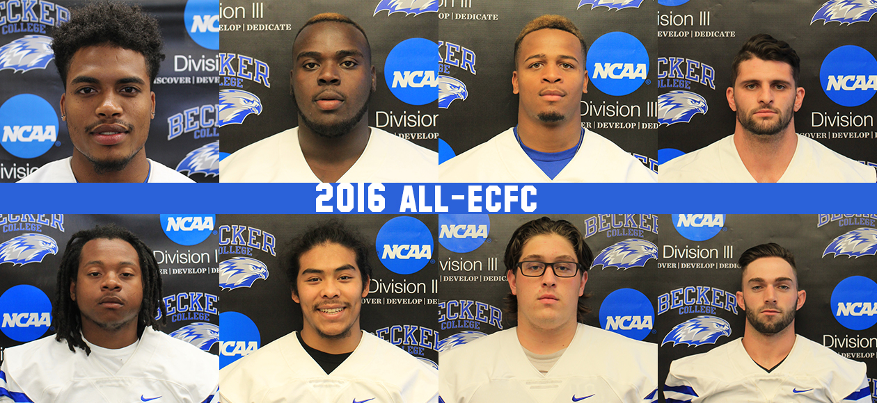 Eight Hawks earn All-ECFC Team Honors